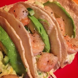 sweetheart shrimp tacos